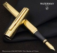 Фото Перьевая ручка Waterman Exception The Marks of Time GT 11 033